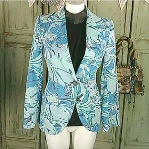 Dolce & Gabbana blue blazer jacket